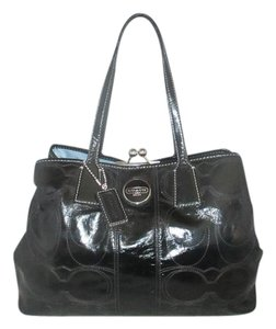 Coach Next Day Shipping Satchel in Black