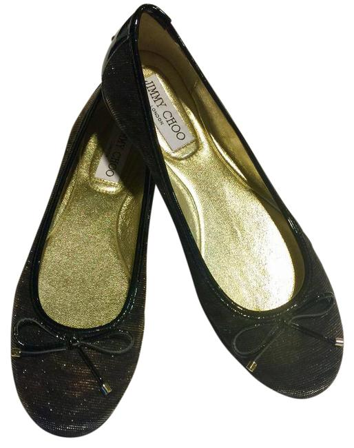 Item - Black/Amber Walsh Ballerina Flats Size US 7 Regular (M, B)