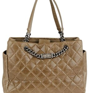 Chanel Tote in Grey Brown