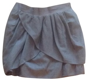 jcrew Skirt Dark Grey