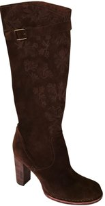 Apepazza Suede Brown Suede Boots
