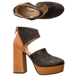 Free People Eclectic Boho Brown Mules