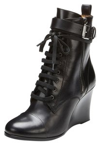 Barbara Bui Black and Metallic Boots