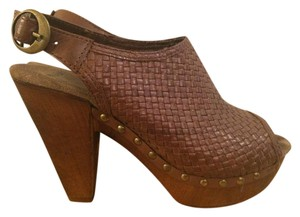 Bronx Brown Mules