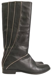 Frye black & Gold Boots