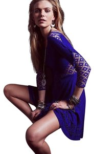 Free People short dress Violet on Tradesy