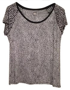 Banana Republic Top Black and Withe