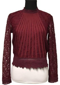 Romeo & Juliet Couture Top maroon