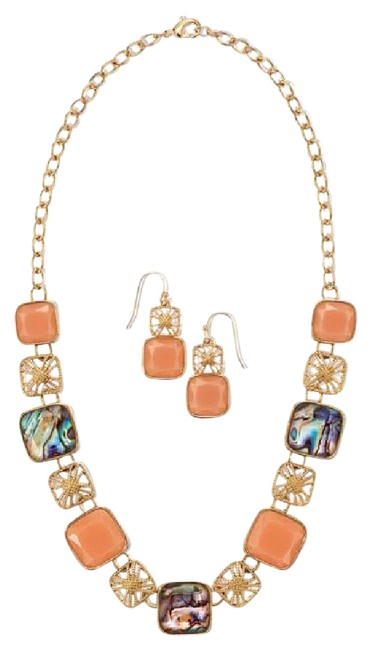 Item - Splash Of Color Necklace and Earring Set