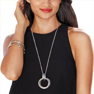 Avon Fashions Pioneer Long Necklace