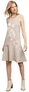 Anthropologie short dress Gray on Tradesy