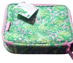 Lilly Pulitzer Green / pink Diaper Bag