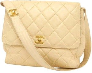 Chanel Cc Logo Tote Flap Quilted Cc Logo Shoulder Bag