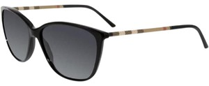 Burberry Women's BE4117 Cateye Polarized Sunglasses