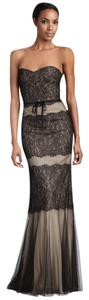 Monique Lhuillier Lace Gown Evening Sweetheart Dress