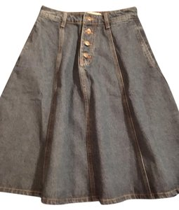 Moon River Skirt Dark Denim