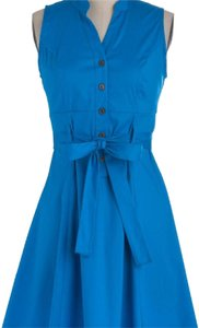 Modcloth short dress Blue on Tradesy