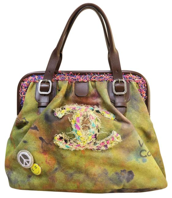 Item - Bowling Bag On The Pavements Darkkhaki Canvas Tote