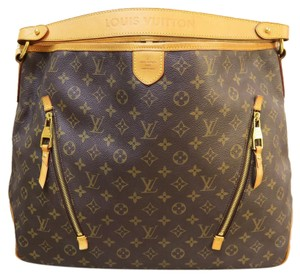Louis Vuitton Lv Delightful Gm Canvas Hobo Bag