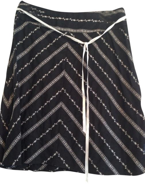 My Michelle Skirt Black And White