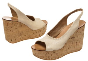 Chlo White Wedges