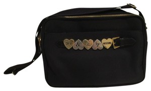 Moschino Black Messenger Bag