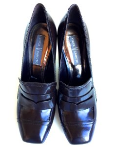 Vince Camuto Shiraz Loafer Penny Keeper Career Brown Pumps