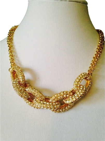 Preload https://item3.tradesy.com/images/panacea-cache-goldcrystal-pave-link-necklace-2078722-0-0.jpg?width=440&height=440