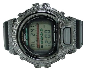 G-Shock Casio Mens G Shock 6900 Jojino Aqua Master Black Diamond Watch 3.0 Ct