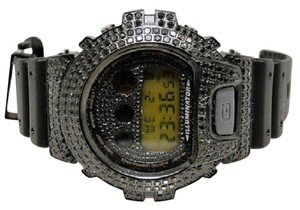 G-Shock Casio Mens G Shock 6900 Aqua Master Black Simulated Diamond Watch