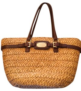 Michael Kors Woven Shoulder Bag