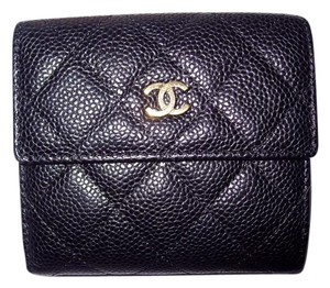 Chanel Chanel Caviar Leather Bifold Wallet