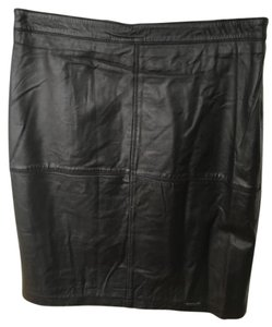 SURE DRY Skirt Black Leather