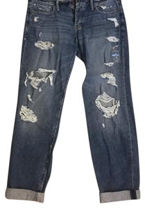 Abercrombie & Fitch Boyfriend Cut Jeans-Distressed