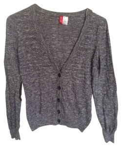 Divided by H&M Basic Heather Standard Buttons Long Sleve Sweater Cardigan