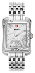Michele $2000 NWT Extreme Butterfly Diamond White Dial Ladies MWW04B000001