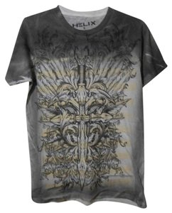 Helix Mens Tee Graphic Large T Shirt Multi