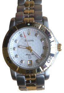 Bulova Bulova two-tone Marine Star with diamonds