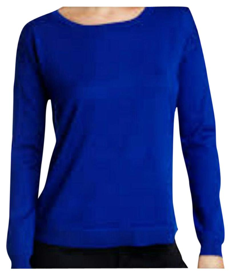 Cable & Gauge Blue Sweater/Pullover Size 8 (M) - Tradesy