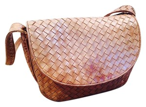 Bottega Veneta Intrecciato Leather Vintage Shoulder Bag