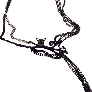Betsey Johnson Disco Ct necklace