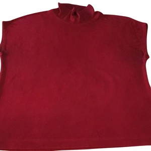 Chico's Top dark red