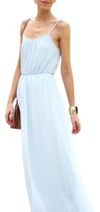 Light Blue Maxi Dress by Zara