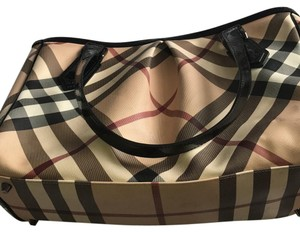Burberry Satchel in Burberry print