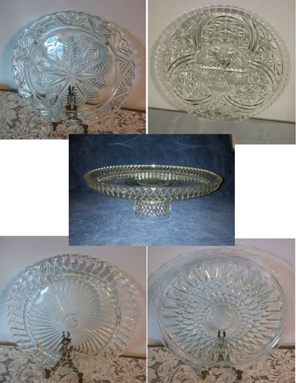 Preload https://img-static.tradesy.com/item/20788442/clear-cake-plates-and-1-platter-great-for-dessert-or-cupcake-bar-reception-decoration-0-0-540-540.jpg
