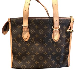Louis Vuitton Popincourt Haut M40007 Tote in Traditional Louis Vuitton Monogram