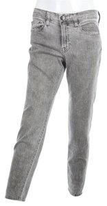 Vince Stonewash Denim Relaxed Fit Jeans-Acid