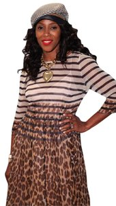 Tracy Reese Animal Print Dress