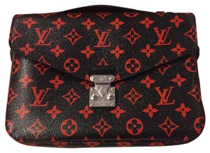 Louis Vuitton Satchel in Infrarouge coated canvas