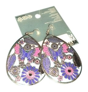 H&M H&M floral earrings